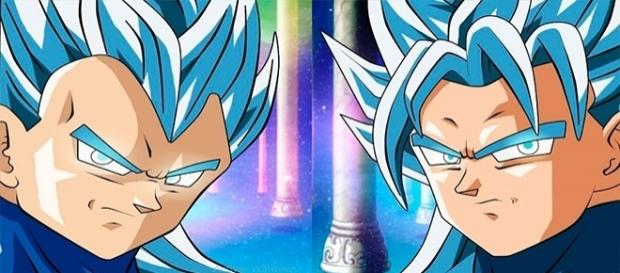Goku y Vegeta con sus nuevas transformaciones