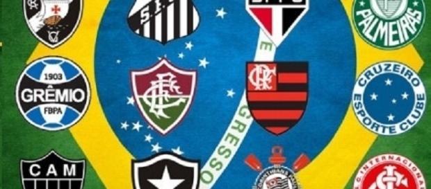 Mercado agitado no futebol brasileiro.