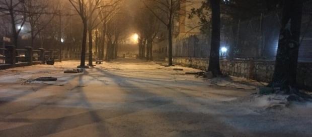 Salerno città: le foto della grossa nevicata del 6 gennaio