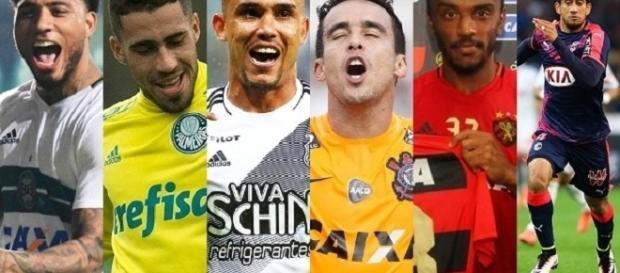 Seis jogadores negociam com o Corinthians