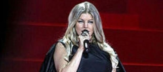 Source: Wikimedia. Fergie rocks weight loss