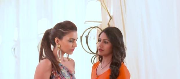 Tia and Anika in Ishbaaz (Youtube screen grab)