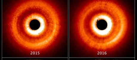 Astronomy Cmarchesin: Hubble Captures 'Shadow Play' Caused by ... - blogspot.com
