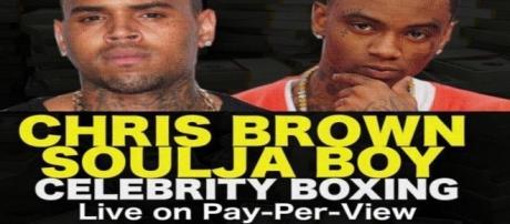Chris Brown vs Soulja Boy fight poster via Flickr.com
