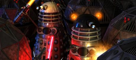 The Daleks return in new computer-generated web comic Trapped in Amber.