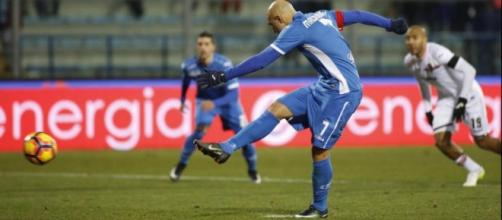 Empoli batte Palermo 1-0: il rigore di Maccarone - lapresse.it
