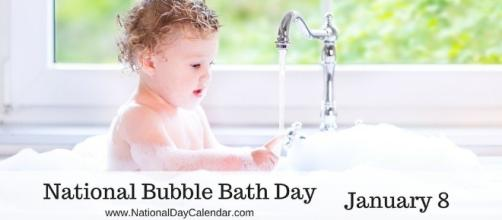 January 8, 2015 – NATIONAL BUBBLE BATH DAY – NATIONAL ARGYLE DAY ... - nationaldaycalendar.com