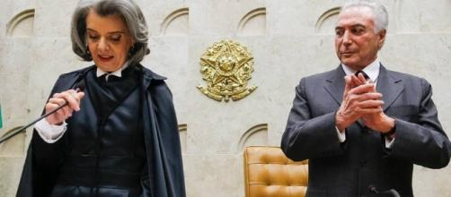 Presidente Temer discute com Ministra Carmem Lúcia sobre a crise nos presídios