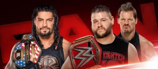"""Roman Reigns is in for some trouble on """"Monday Night Raw."""" - WWE"""