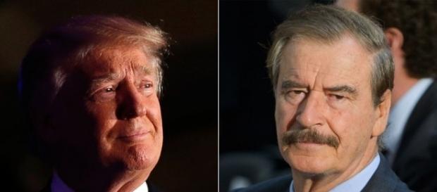 Donald Trump and Mexico's Former President Vicente Fox Spar on ... - go.com