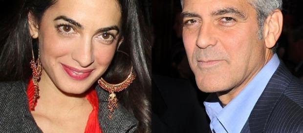 Dress to Impress from George & Amal Clooney's Romance Rewind - eonline.com