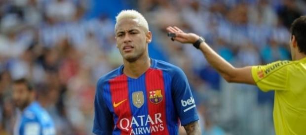 Neymar, atacante do Barcelona da Espanha