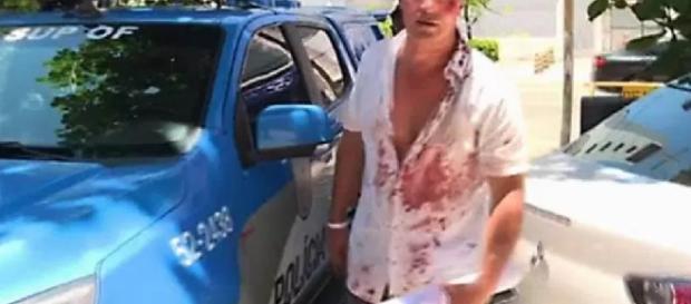 Turista bate em bandido e ele é quem vai preso - Google