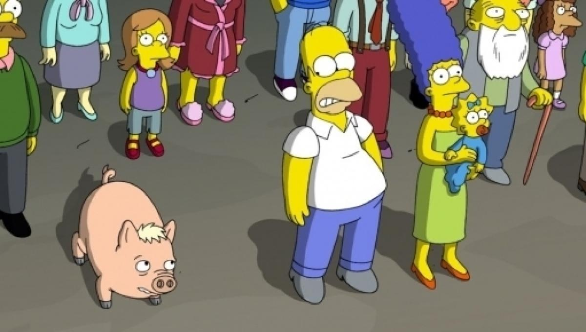 The Simpsons Explains What Happened To Homer S Pig In First Episode Of The Year