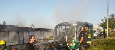 Gerusalemme: attacco terroristico a Bus-immagini - YouReporter.it - youreporter.it