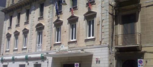 Il Palazzo della Provincia, a Crotone.