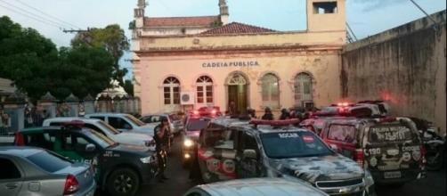 Rebelião estoura na Raimundo Vidal Pessoa em Manaus