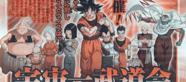Dragon Ball Super Capítulo 77 - comienza el primer capítulo de la nueva saga 2017