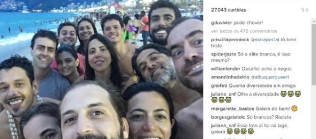 Gregório Duvivier é criticado nas redes sociais