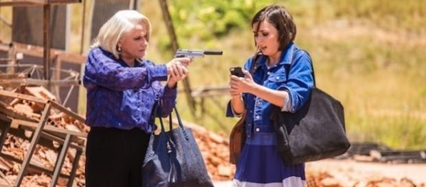 Imagem: as atrizes Vera Holtz e Regiane Alves, em 'A Lei do Amor'