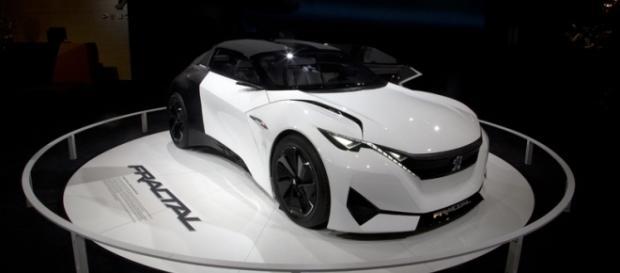 Le Concept-Car Fractal de chez Peugeot