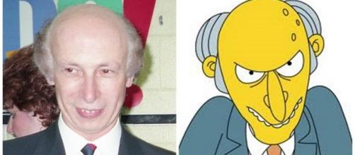 Conociendo el malvado Señor Burns