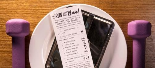 Run For Your Bun: pay for your lunch - with exercise!