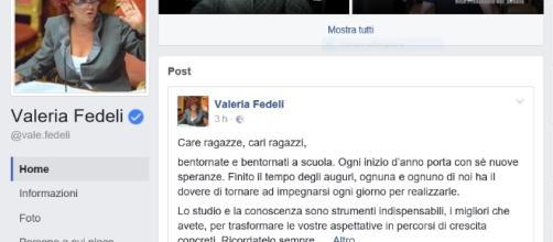 Saluto e commenti del ministro Valeria Fedeli