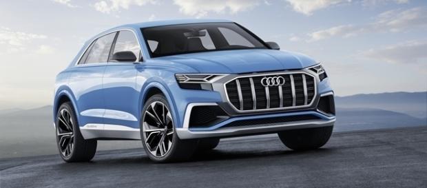 Audi Q8 Concept tem 5 m de comprimentos e 3 m de distância entreeixos