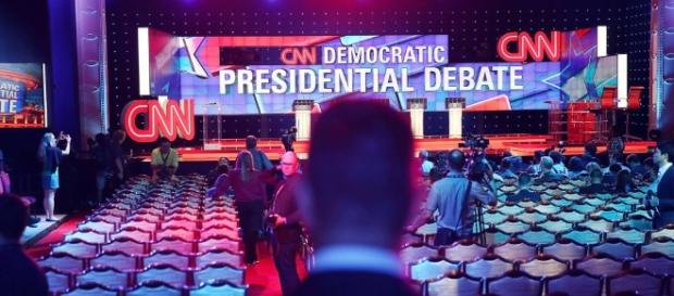 CNN covers the presidential campaign news /. Photo sourced via Blasting News Library