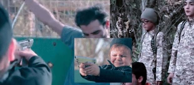 Dernière d'une longue série, une vidéo de Daesh montre une exécution d'un prisonnier par un enfant de moins de quatre ans