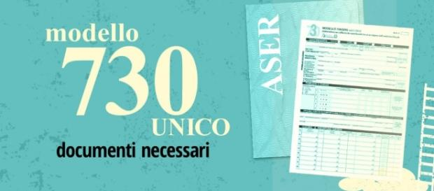 Documenti necessari Modello 730 e UNICO - ASER Caf CNDL - aserweb.it