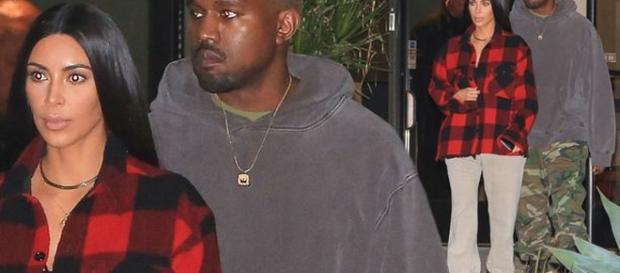 Kim and Kanye enjoy a rare night out in comfy outfits - imagem: juliano-daddy/X17online.com