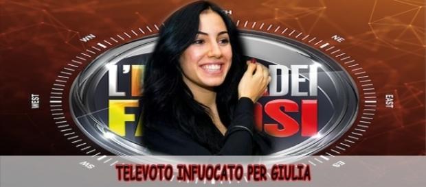 L'Isola dei Famosi 2017 anticipazioni: Giulia De Lellis sfiderà al televoto una sua nemica