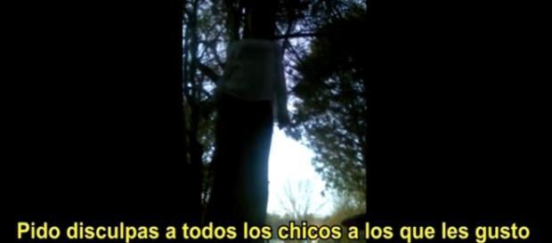 La chica que se suicidó en vivo
