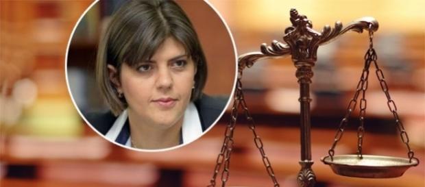 """Laura Codruța Kovesi în """"silenzio stampa"""" la întrebările despre Sebastian Ghiță la ieșirea din Ministerul Justiției"""