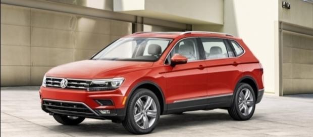 Novo Volkswagen Tiguan Allspace tem terceira fileira de bancos