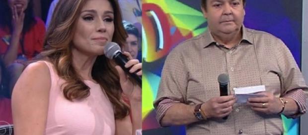 Paula Fernandes e Fausto Silva - Google