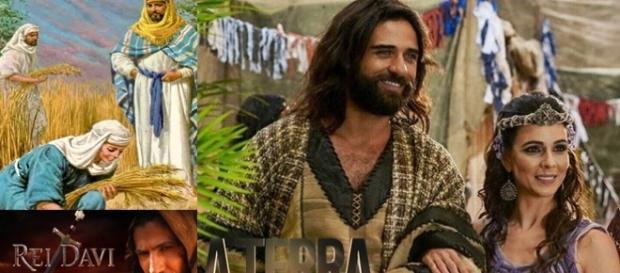 Salmon e Raabe terão o filho Boaz em 'A Terra Prometida'