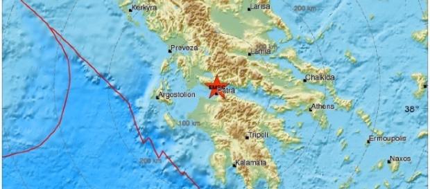 Terremoto in Grecia, 09 Gennaio 2017
