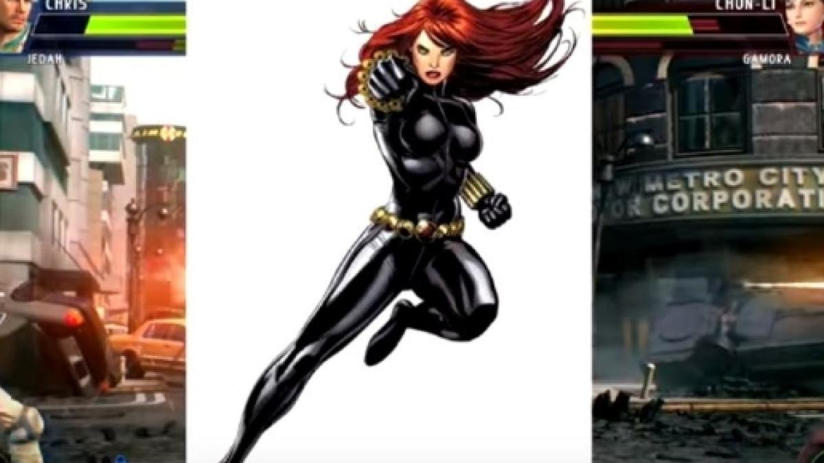 Marvel Vs Capcom Infinite Concept Art For Black Widow