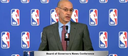 Adam Silver expects NBA players to stand for the national anthem   ESPN Image- ESPN  YouTube