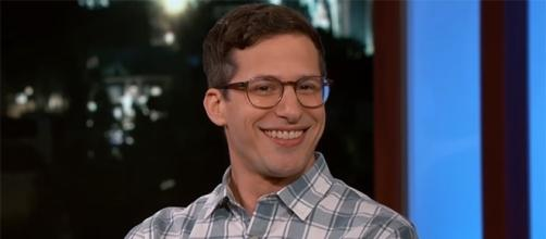 "Andy Samberg opens up about being a first time dad in this week's ""Jimmy Kimmel Live."" (Image Credit: Jimmy Kimmel Live/YouTube)"