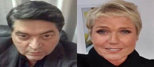Datena e Xuxa trocam farpas nas redes sociais