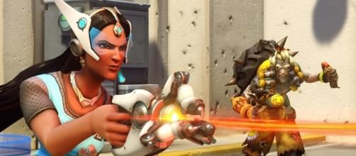 """Just_steveo got his well-deserved """"Overwatch"""" ban. Image Credit: Blizzard Entertainment"""