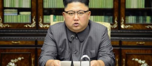 : Kim Jong-un made a statement that the North won't succumb to the demands of US. [Image Credit: KCNA/ Wikipedia Commons]