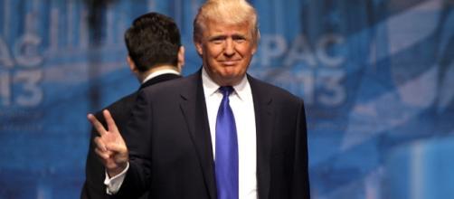 President Trump announces sanctions. [Image Credit: Wikimedia Commons]