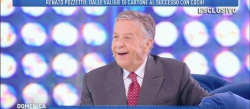 Renato Pozzetto ospite a Domenica Live