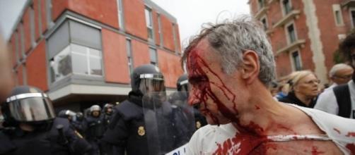 Sangue sul referendum per l'indipendenza della Catalogna