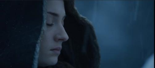 "Sophie Turner returns as Sansa Stark in ""Game of Thrones"" Season 8. (Photo:YouTube/Kristina R)"